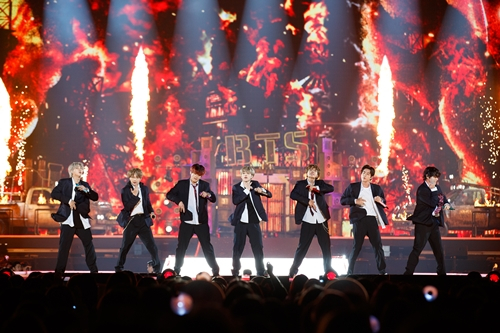 BTS performs during the 2019 MAMA (Mnet Asian Music Awards) in Japan. [MAMA]