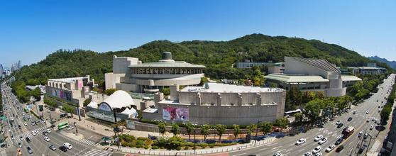 The view of Seoul Arts Center in Seocho District, southern Seoul. [SEOUL ARTS CENTER]