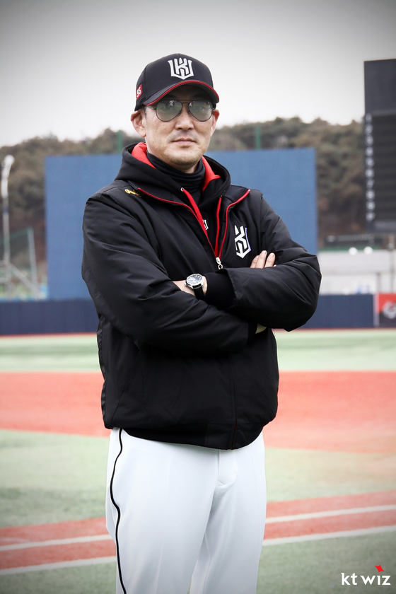 KT Wiz's new Futures League team manager Seo Yong-bin. [KT WIZ]