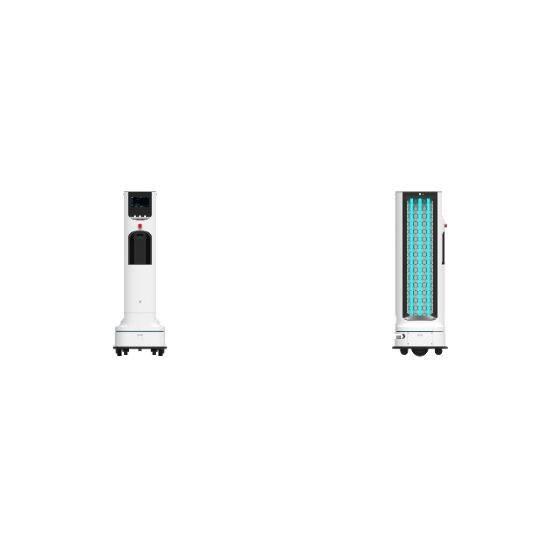 LG Electronics' CLOi UVC-Robot. [LG ELECTRONICS]
