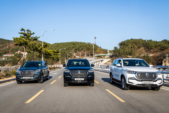 SsangYong Motor's new Rexton SUV. [SSANGYONG MOTOR]
