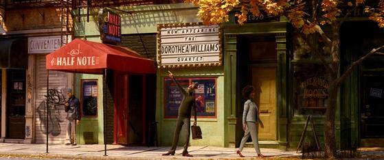 """A scene from upcoming Disney and Pixar film """"Soul."""" [DISNEY/PIXAR]"""