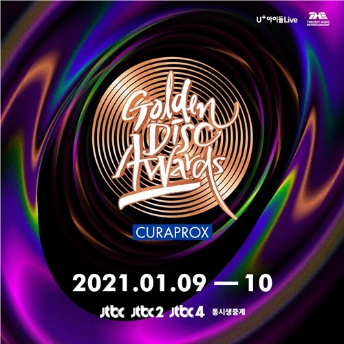 The 35th Golden Disc Awards will be broadcast live on JTBC. [JTBC]