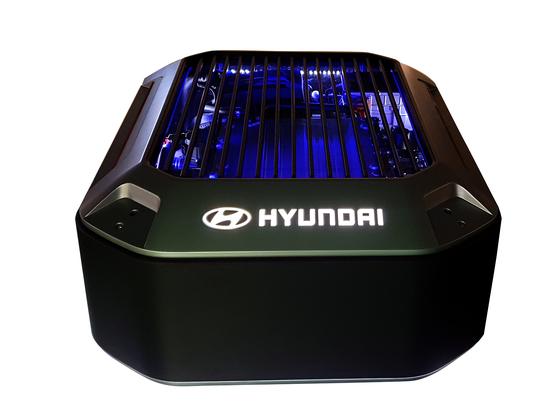 Hyundai Motor's fuel-cell system [HYUNDAI MOTOR]