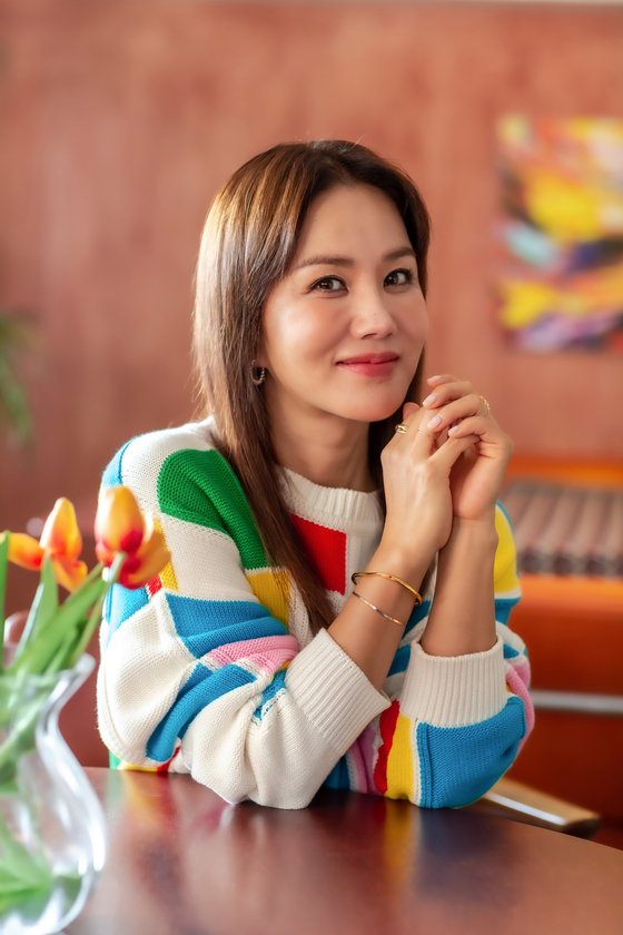 Singer and actor Uhm Jung-hwa [ILGAN SPORTS]