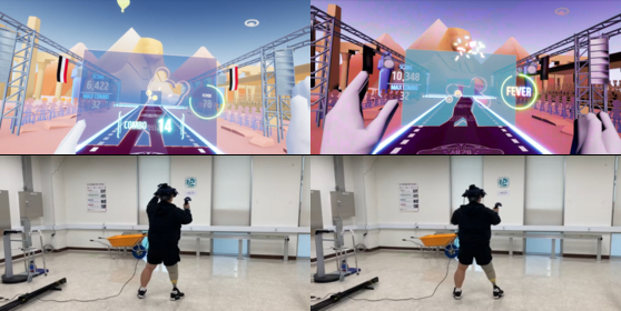 A team of four researchers led by senior researcher Chang Yoon-hee of the Rehabilitation Engineering and Assistive Technology Society of Korea reveal that VR games helped amputees improve their training. [CHANG YOON-HEE]