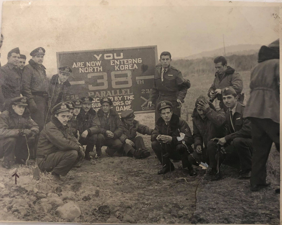 Members of the Greek forces at the inter-Korean border during the Korean War (1950-1953). [EMBASSY OF GREECE IN KOREA]