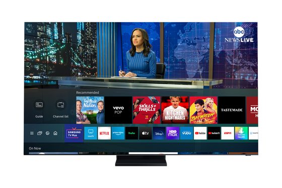 The news section offered at Samsung Electronics' over-the-top platform,Samsung TV Plus. [SAMSUNG ELECTRONICS]