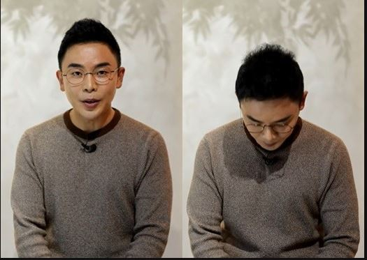 """Seol Min-seok apologizes to his viewers for making factual errors on """"Seol Min-seok's Naked World History"""" on Tuesday evening. [SCREEN CAPTURE]"""