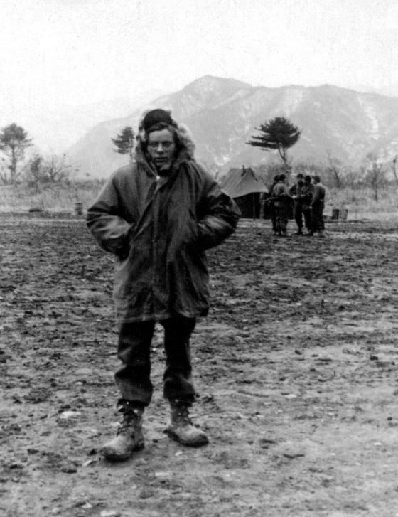 Antonius Johannes Kelders, a Dutch corporal during the Korean War. [ANTONIUS JOHANNES KELDERS]