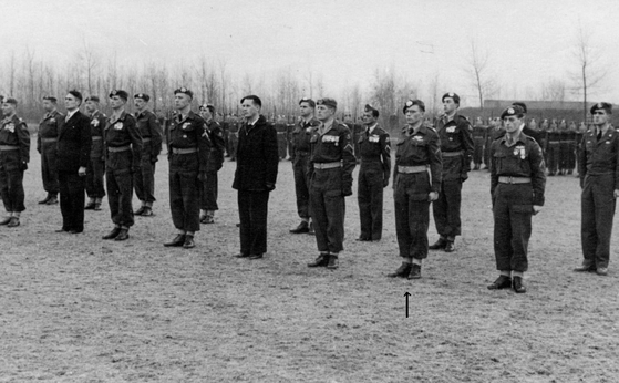 Dutch soldiers who served during the Korean War. The Dutch battalion was awarded two U.S. Presidential Unit Citations and two Korean Presidential Unit Citations throughout the war. [ANTONIUS JOHANNES KELDERS]