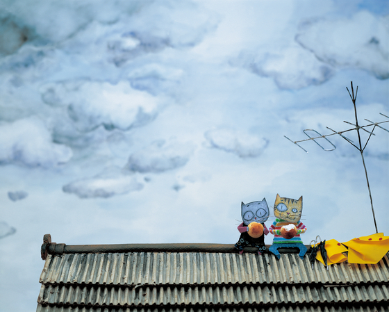 "An image from award-winning children's book ""Cloud Bread"" (2004) by Baek Hee-na. [JOONGANG PHOTO]"