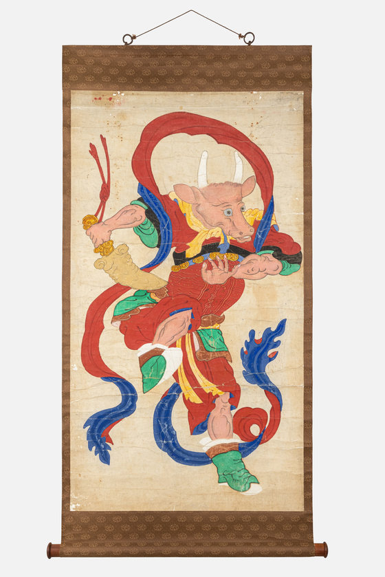 Ox God from the Paintings of the Twelve Zodiac Animals. [NATIONAL FOLK MUSEUM OF KOREA]