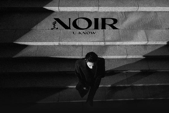 The image for TVXQ's U-Know Yunho's upcoming mini album ″NOIR.″ [SM ENTERTAINMENT]