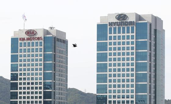 Kia Motors headquarters last year. [YONHAP]