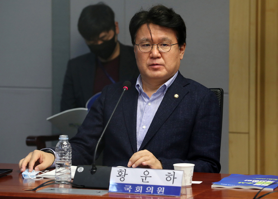 Rep. Hwang Un-ha of the ruling Democratic Party. [NEWS1]