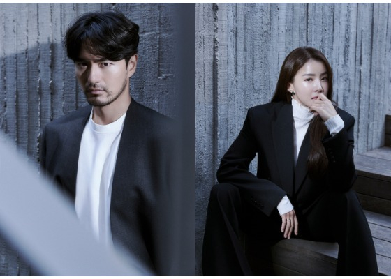 """Actors Lee Jin-uk, left, and Lee Si-young take on lead roles in the Netflix original series """"Sweet Home."""" [NETFLIX]"""