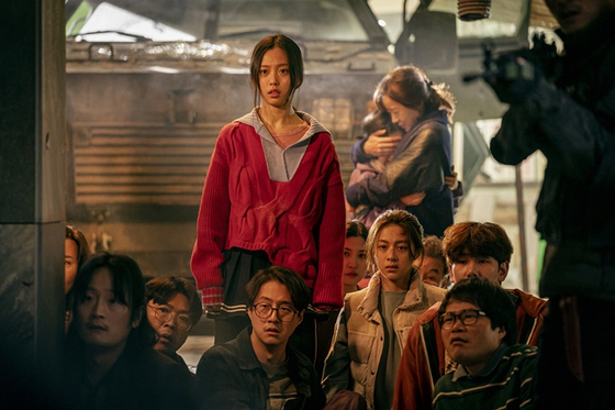 Scenes from the Netflix original series ″Sweet Home,″ based on the Naver webtoon of the same title. [NETFLIX]