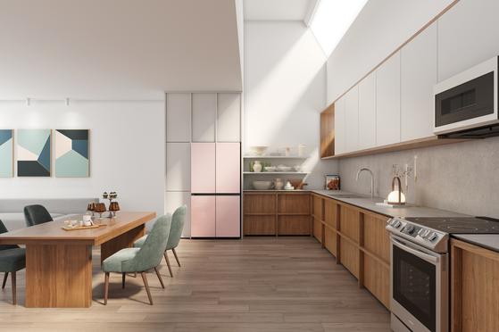 Samsung Electronics' Bespoke refrigerator. [SAMSUNG ELECTRONICS]