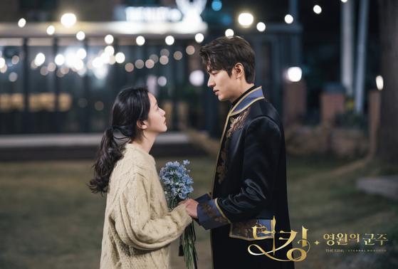 SBS drama series ″The King: Eternal Monarch″ was one of the most highly anticipated shows last year featuring star actors Lee Min-ho and Kim Go-eun as a couple. Despite high expectations, however, the series ended with a viewership rating of 8.1 percent. [SBS]