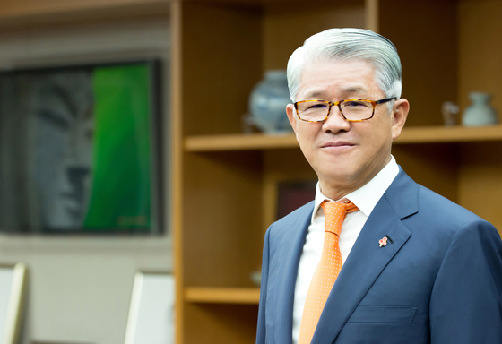 Choi Shin-won, the CEO and chairman of SK Networks. [JOONGANG ILBO]
