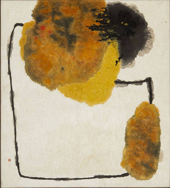 """""""In the Forgotten History""""(1963) by Park Rehyun. [MMCA]"""