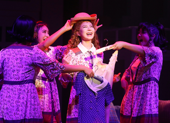 ″Musical Duet″ is currently being staged at the KT&B Sangsangmadang's Daechi Art Hall in southern Seoul. [YONHAP]