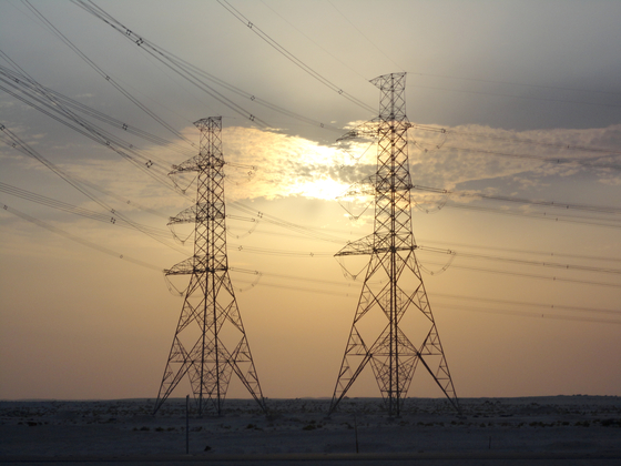 Hyundai Engineering & Construction built the 380-kilovolt power lines for power plants in Qurayyah, Saudi Arabia. Its new project in northern Saudi Arabia follows this project. [HYUNDAI ENGINEERING & CONSTRUCTION]