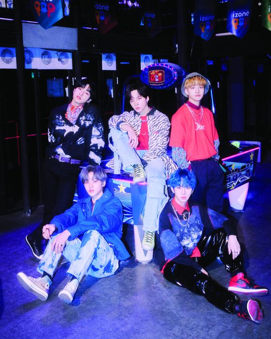 Boy band MCND [TOP MEDIA]