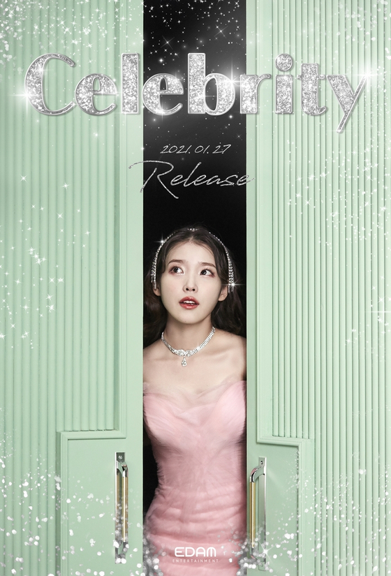″Celebrity,″ a single from IU's upcoming full-length album, will be pre-released on Jan. 27. [EDAM ENTERTAINMENT]