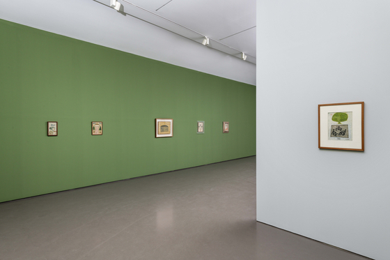 Paintings by Chang Ucchin now on view at Gallery Hyundai in central Seoul. [GALLERY HYUNDAI]