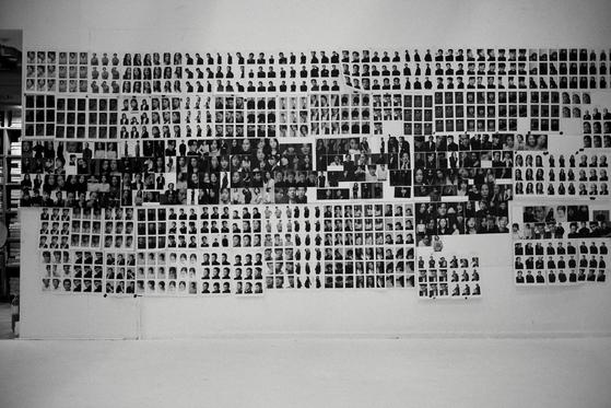The artwork image of Kofic's upcoming photo book ″The Actor is Present″ of 200 top Korean actors. [KOFIC]