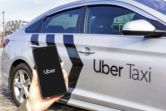 Uber launched a beta version of its franchise taxi service in Korea on Wednesday with a plan to supply 1,000 Uber-badged taxis within the first quarter. The rate will be in line with regular taxis. [UBER KOREA]