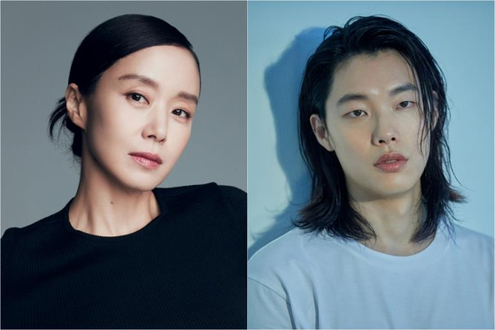Actors Jeon Do-yeon, left, and Ryu Joon-yeol will portray lead roles in upcoming JTBC series ″Disqualified as a Human.″ [MANAGEMENT SOOP, C-JES ENTERTAINMENT]