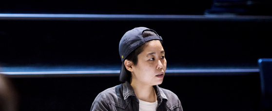 "Koo Ja-hye, the playwright and director of ""Roadkill in the Theater."" [NTCK]"