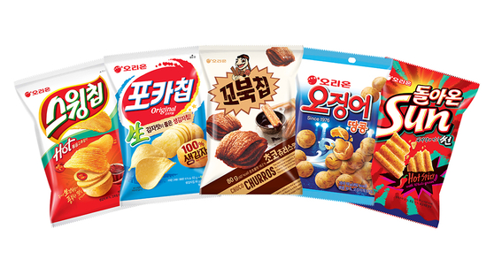 Confectionery maker Orion's snacks. [ORION]