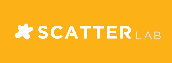 The logo of Scatter Lab. [JOONGANG PHOTO]