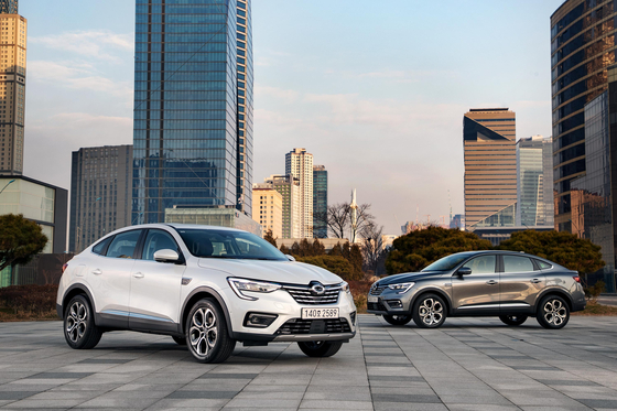 Renault Samsung's XM3 offers customers the comfort of a sedan in the body of a compact SUV. [RENAULT SAMSUNG MOTORS]