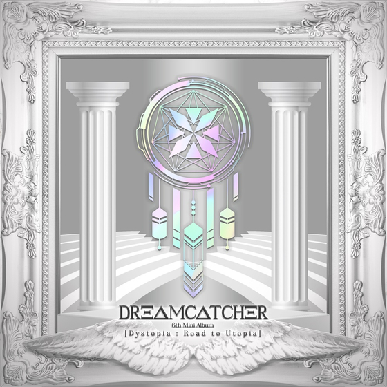 The cover image for girl group Dreamcatcher's new EP ″Dystopia: Road to Utopia″ [DREAMCATCHER COMPANY]