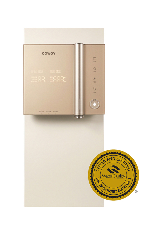 "Coway's water purifier is defining the standard of ""safe water"" with its multiple certifications from various domestic and international institutions."
