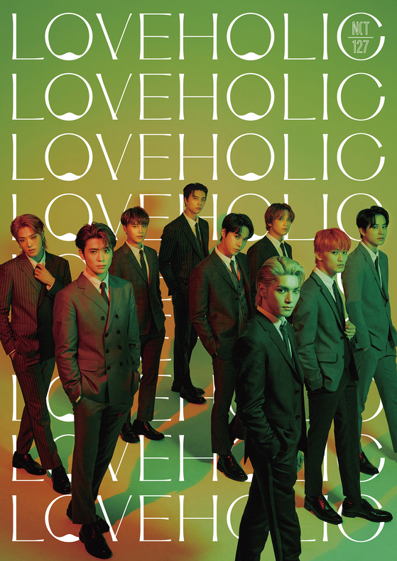 Boy band NCT 127's second Japanese EP ″Loveholic″ will drop on Feb. 17. [SM ENTERTAINMENT]