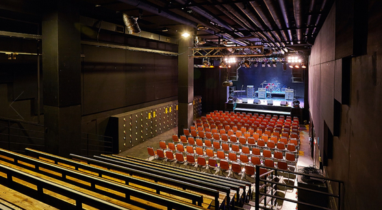 The Hanatour V-hall in Hongdae, western Seoul [HANATOUR V-HALL]