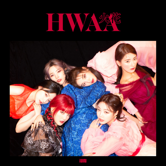 The online cover image for (G)I-DLE's latest hit ″Hwaa″ [CUBE ENTERTAINMENT]