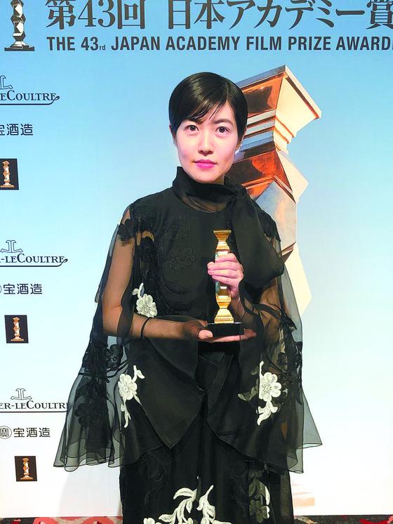 Actor Shim Eun-kyung [JAPAN ACADEMY FILM PRIZE]