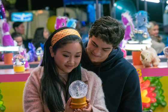 """Lana Condor and Noah Centineo bid farewell to their characters Lara Jean and Peter as they wrap up the trilogy of """"To All the Boys."""" [NETFLIX]"""