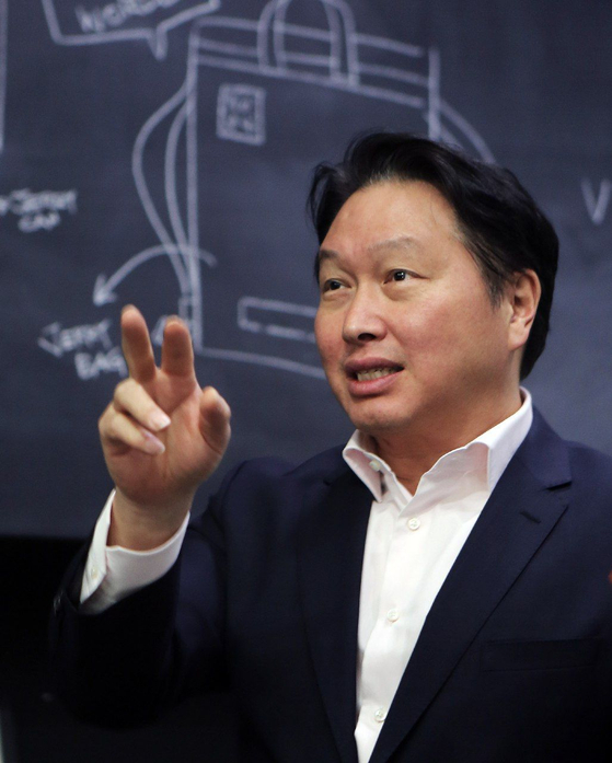 SK Group Chairman Chey Tae-won. [SK GROUP]