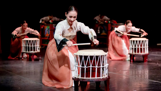 "The National Theater of Korea's ""New Day,"" showcasing an array of traditional performances, will be staged for three days from Feb. 11. [NATIONAL THEATER OF KOREA]"
