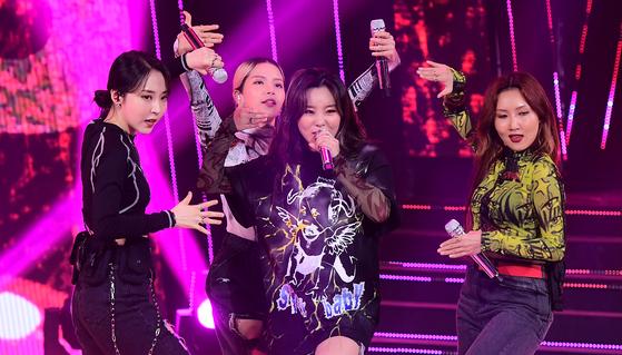 Girl group Mamamoo [JOONGANG ILBO]