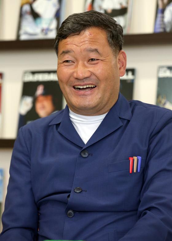 Oh Kyu-suk, head of Gijang County, Busan. [JOONGANG PHOTO]