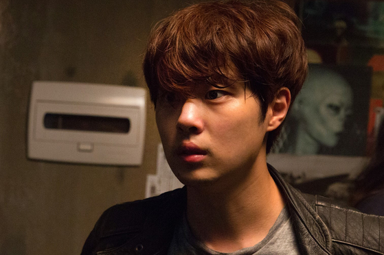 Jo Byung-gyu plays Do Geon-tae, who visits an alien research society. [STORM PICTURES KOREA]